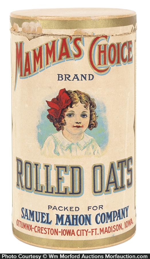 Mamma's Choice Oats Box