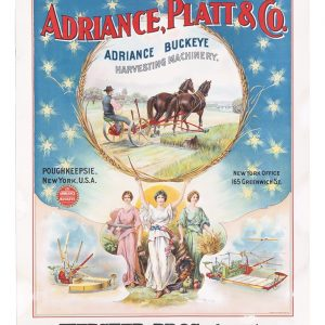 Adriance, Platt & Co. Harvesting Machinery Poster