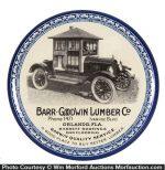 Bar Goodwin Lumber Co. Paperweight Mirror