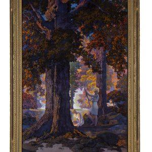 Large Golden Hours Illustration