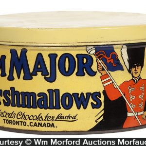 Drum Major Marshmallows Tin