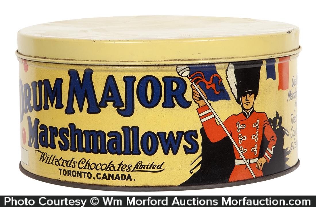 Drum Major Marshmallows Tin