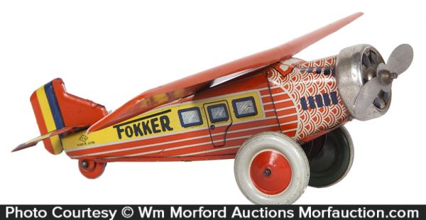 Fokker Airplane Toy