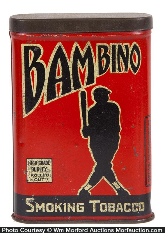 Bambino Pocket Tobacco Tin