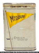 Ensign Missouri Pocket Tobacco Tin