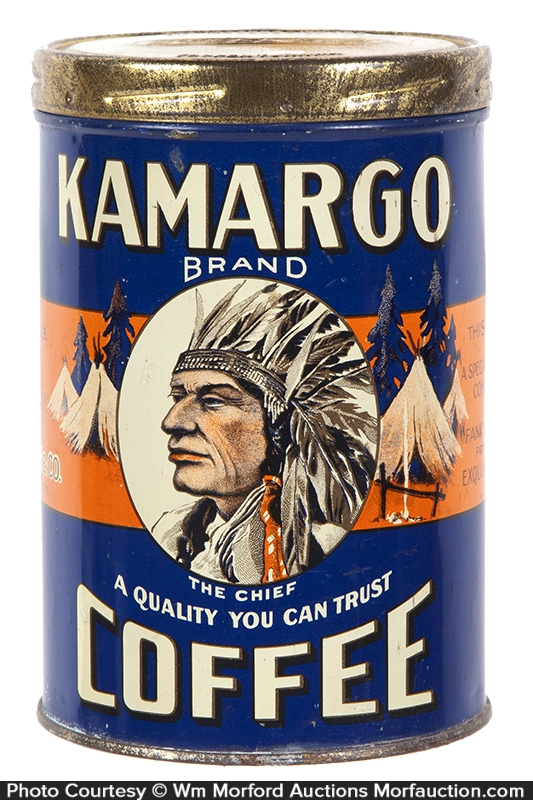 Kamargo Coffee Can