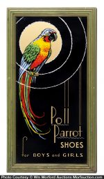Poll Parrot Shoes Sign