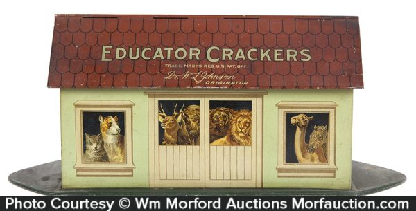 Johnson Educator Crackers Tin