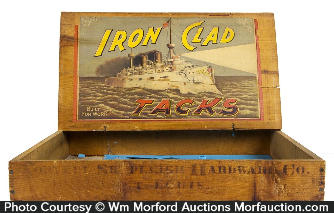 Iron Clad Tacks Box