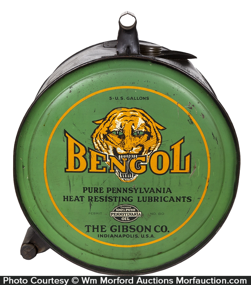 Bengol Motor Oil Can