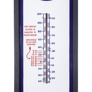 Large Polarine Porcelain Thermometer