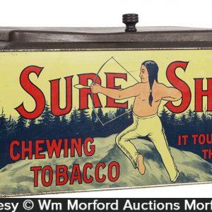 Sure Shot Tobacco Bin