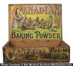 Canadian Baking Powder Box