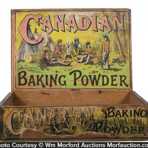 Canadian Baking Powder Box