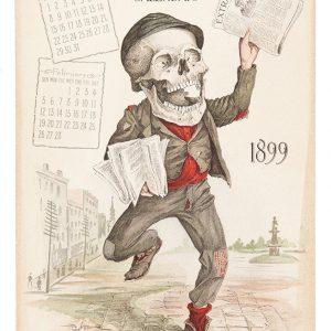 1899 Antikamnia Calendar