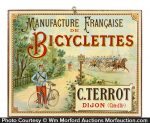 French Bicycles Sign