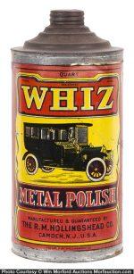 Whiz Metal Polish Tin
