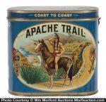 Apache Trail Cigar Tin