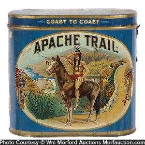Apache Trail Cigar Tin