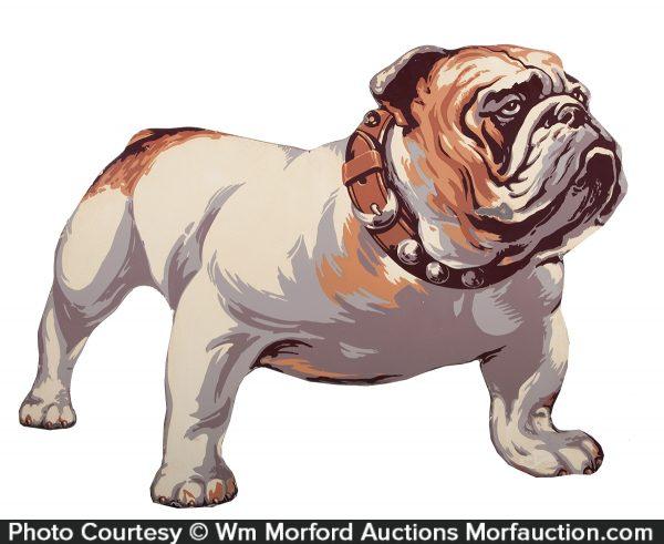 Porcelain Mack Trucks Bulldog Sign