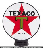 Texaco Porcelain Pump Sign