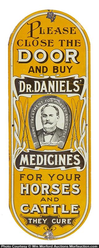 Dr. Daniels' Medicine Door Push