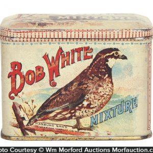 Bob White Mixture Tobacco Tin