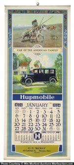 Hupmobile Auto Calendar