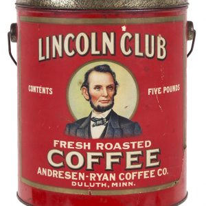 Lincoln Club Coffee Pail