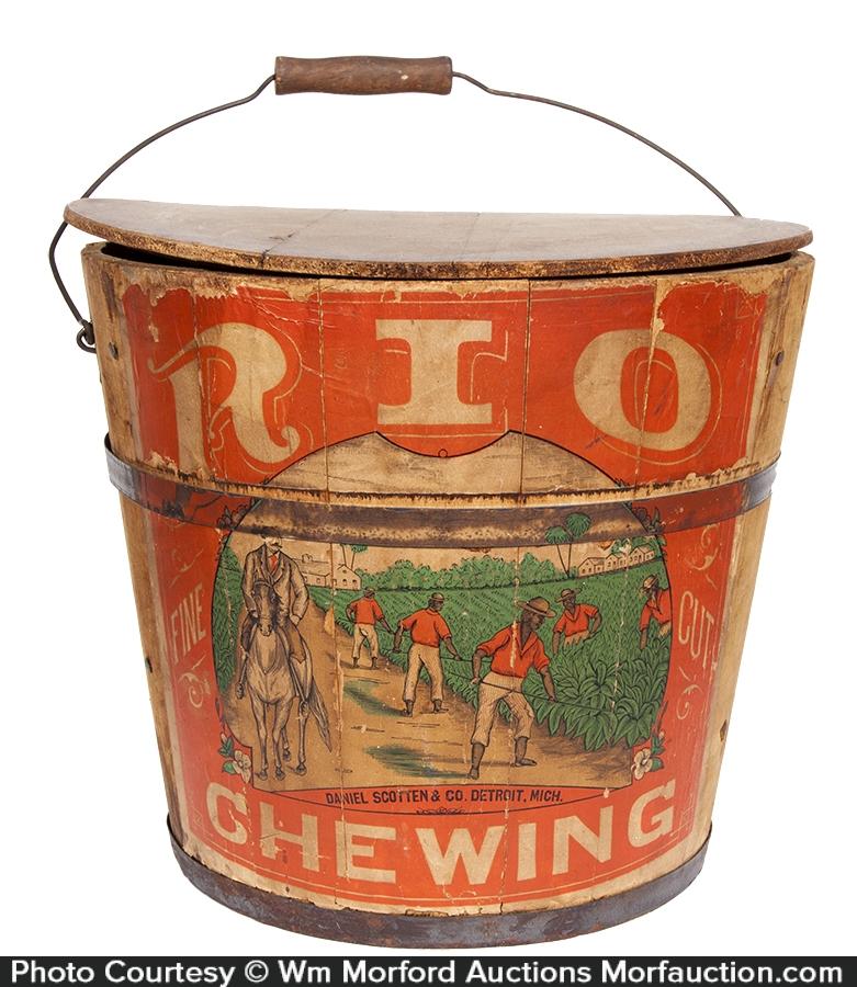 Rio Chewing Tobacco 10 Lb. Pail
