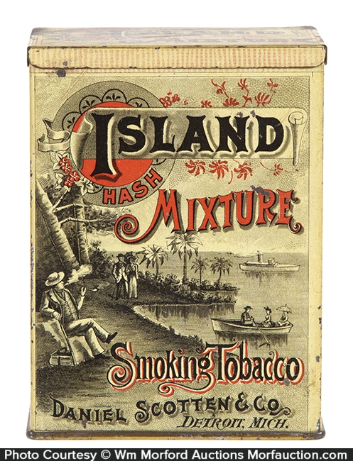 Island Mixture Tobacco Tin