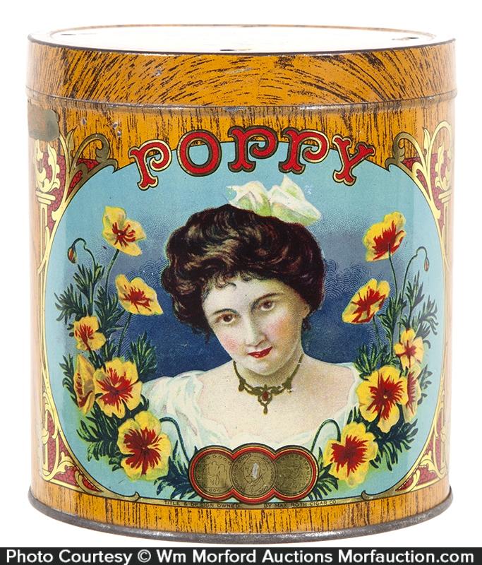 Poppy Cigar Can