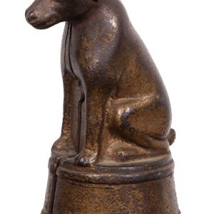 Dog on Tub Figural Bank