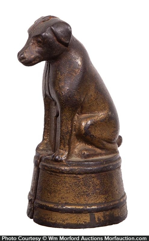 Dog on Tub Figural Bank