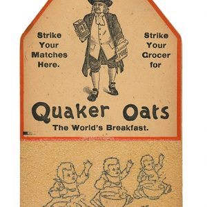 Quaker Oats Match Scratcher