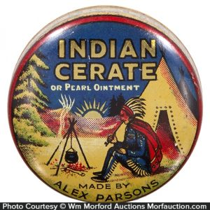 Indian Cerate Salve Tin