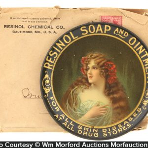 Resinol Soap and Ointment Tip Tray