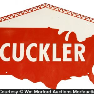 Cuckler Barn Girders Sign