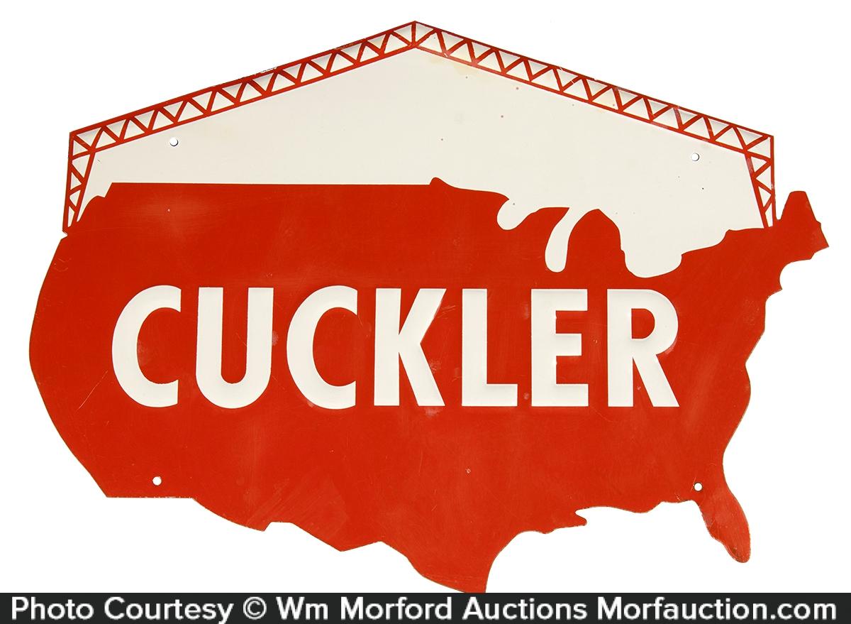Cuckler Barn Girders Sign