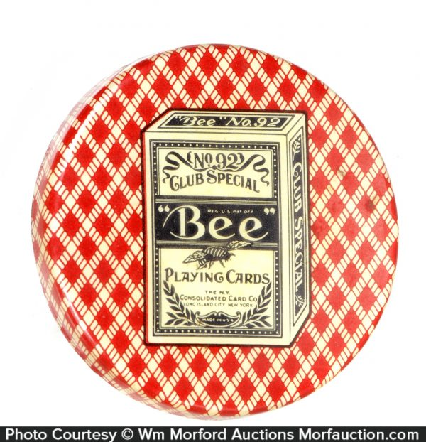 Bee Playing Cards Paperweight
