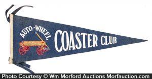 Auto-Wheel Coaster Club Pennant