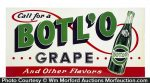 Botl'o Grape Soda Sign