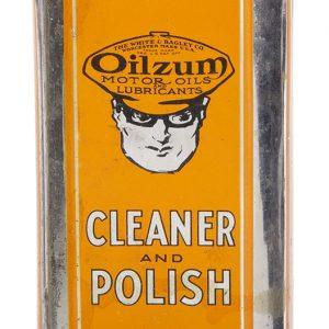 Oilzum Cleaner and Polish Tin