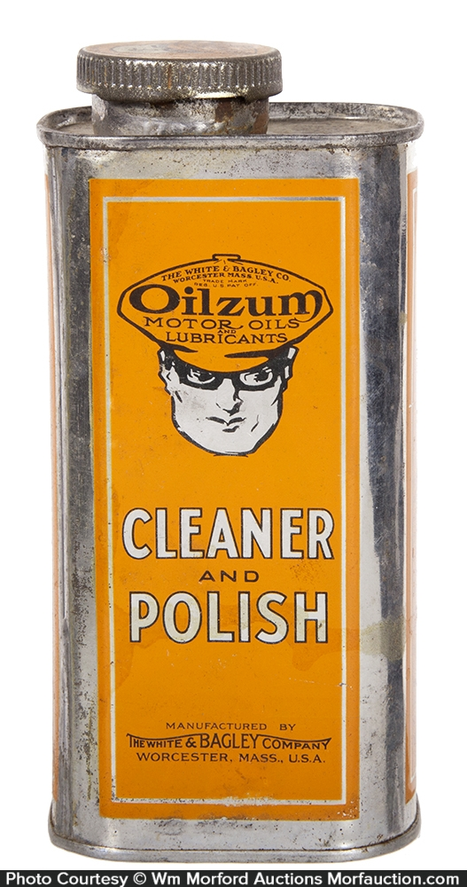 Oilzum Cleaner and Polish Tin