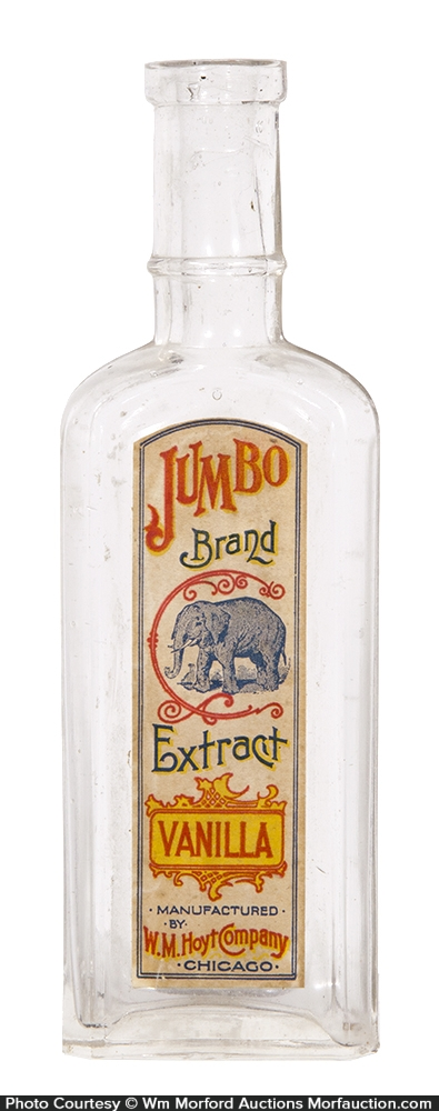 Jumbo Vanilla Extracts Bottle