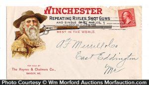 Winchester Guns Envelope Cover