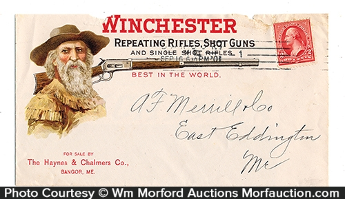 Winchester Guns Envelope Cover