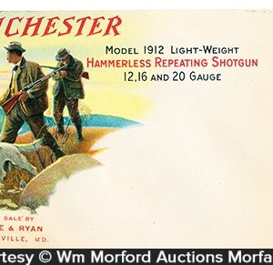 Winchester Model 1912 Envelope Cover