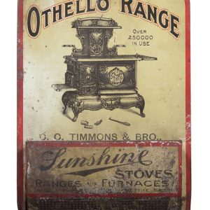 Othello-Ranges Sunshine Stoves Match Holder