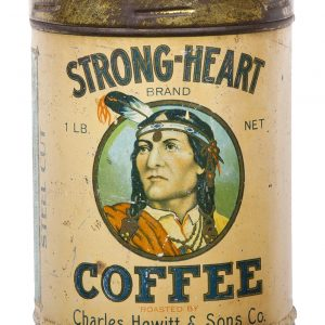 Strong Heart Coffee Can